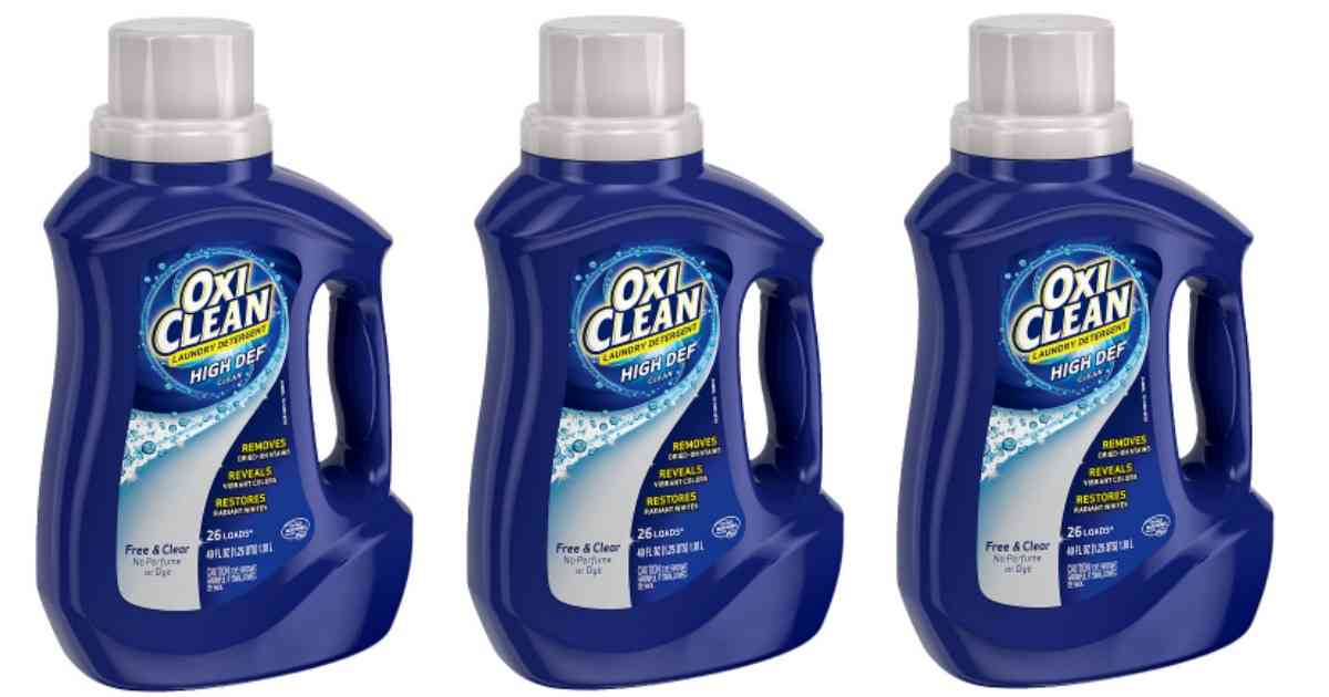 photo relating to Oxiclean Printable Coupon identified as OxiClean Coupon Detergent for $1.97 :: Southern Savers