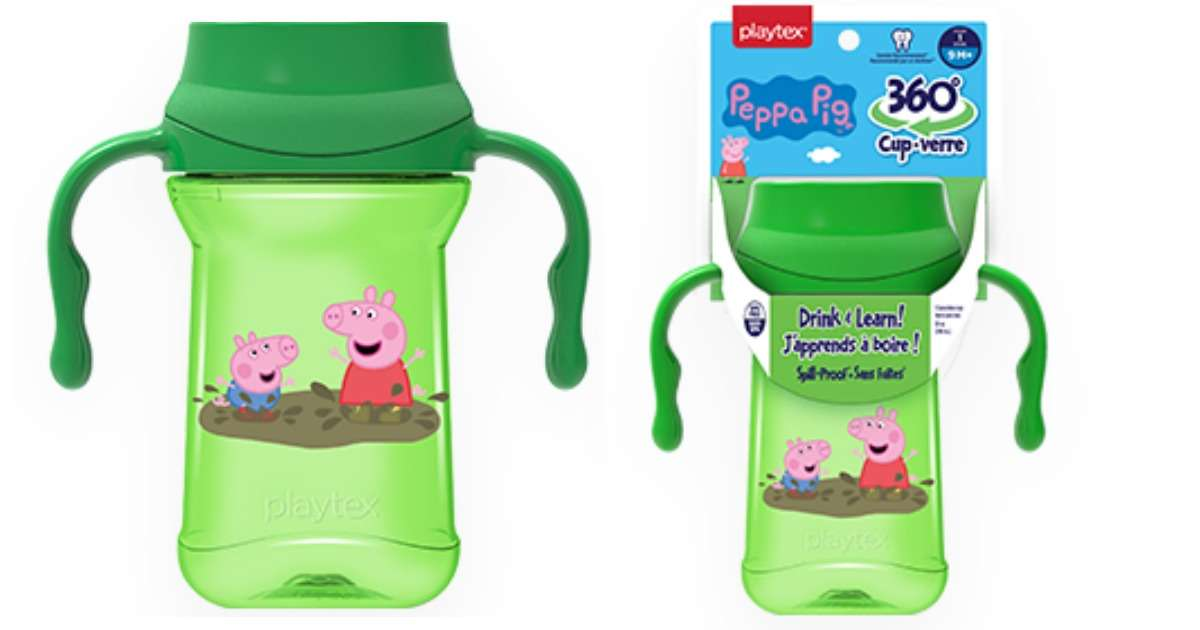 244a78e25 Have a Peppa Pig fan? Head to Target to get a good deal on a Playtex Peppa  Pig cup! Combine a printable coupon with a gift card deal to get cups for  ...
