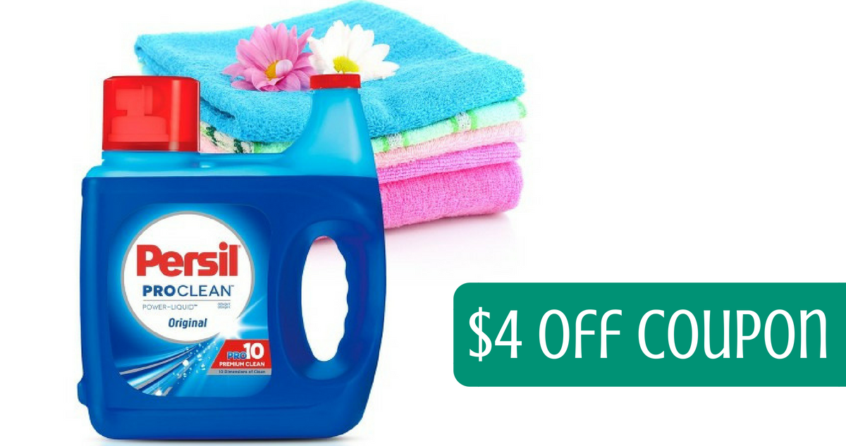 graphic regarding Persil Printable Coupon called Persil Coupon 100 oz Detergent for $5.29 :: Southern Savers
