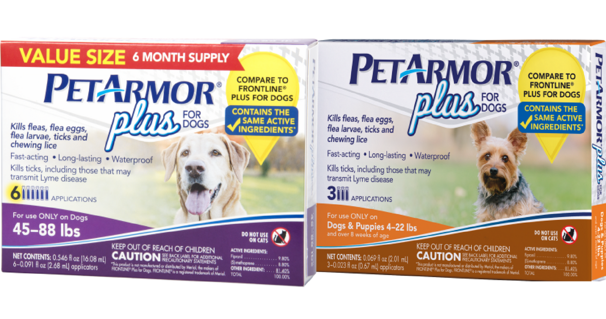 photo relating to Frontline Coupons Printable titled PetArmor Coupon Flea Tick Method for $5.40 For every