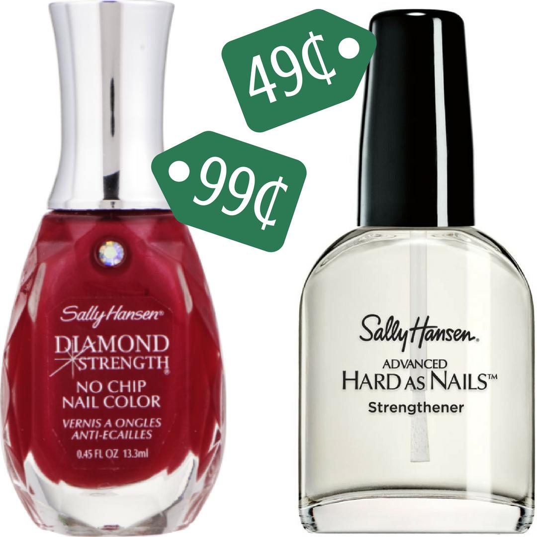 Sally Hansen Coupons | Makes Nail Strengthener 49¢ :: Southern Savers