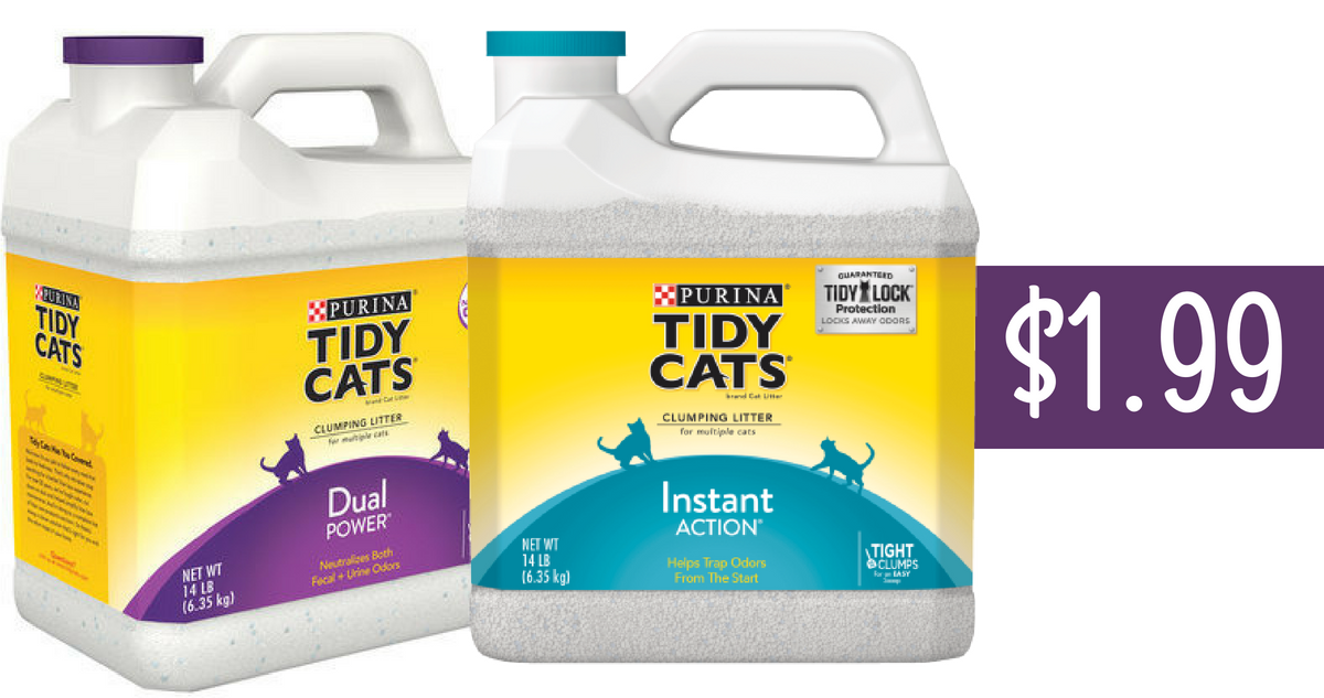 photo about Tidy Cat Printable 3.00 Coupon named Tidy Cats Coupon Tends to make Cat Clutter $1.99 :: Southern Savers