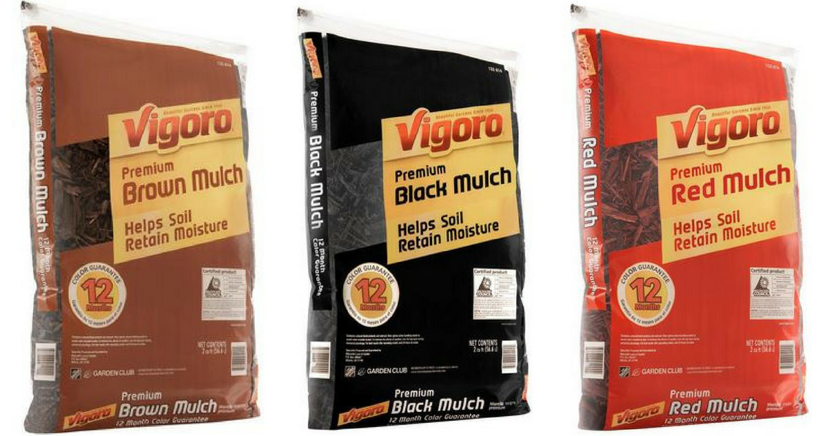 Home Depot Lowes Vigoro Wood Mulch For 2 Southern Savers