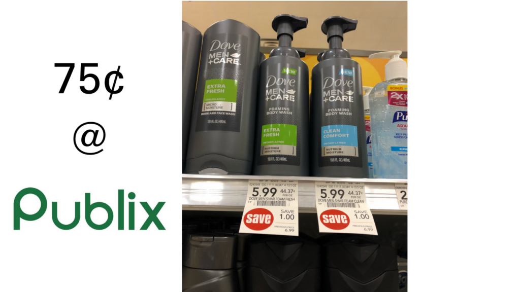 photograph regarding Dove Soap Printable Coupons titled Dove Adult males+Treatment Coupon Foaming System Clean 75¢ at Publix