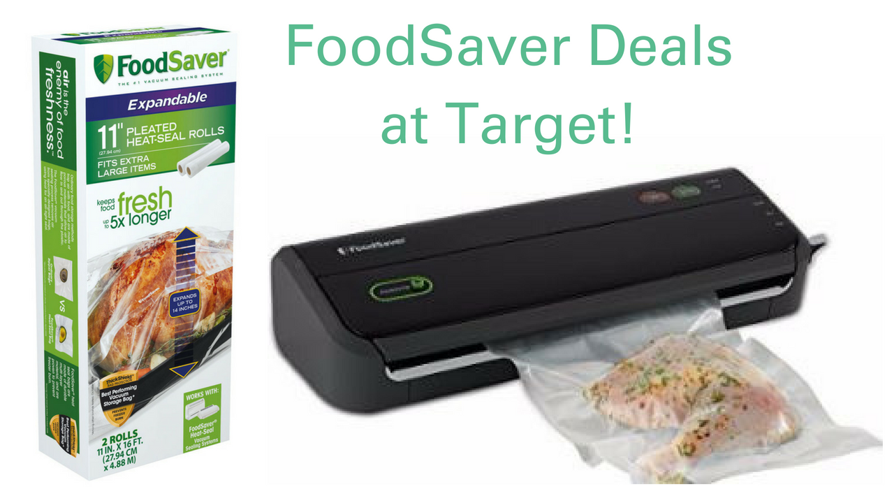 Foodsaver Coupons Target Cartwheel Vacuum Sealer For