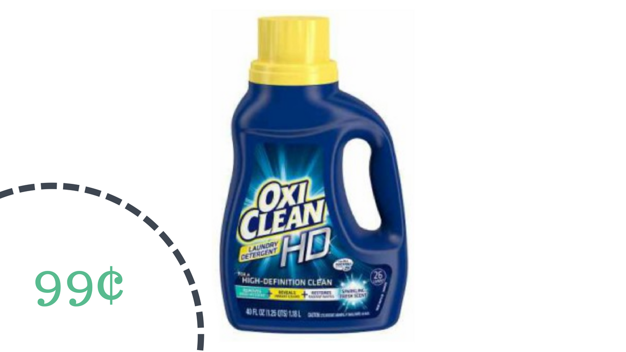 photograph about Oxiclean Printable Coupon identified as Clean OxiClean Coupon, Detergent For 99¢ :: Southern Savers