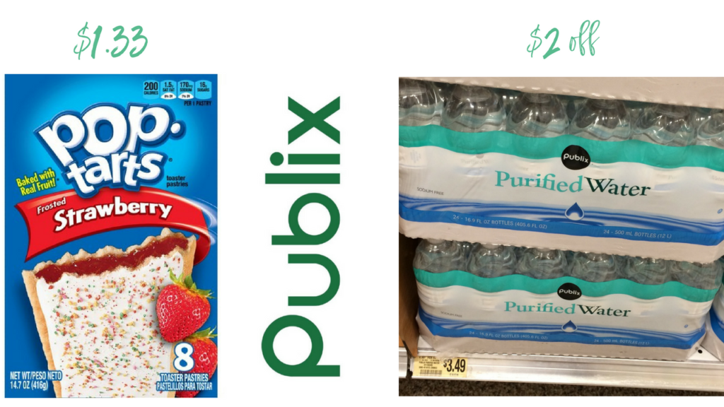 photo about Pop Tarts Coupon Printable titled Pop-Tarts Coupon $1.33 + $2 off Drinking water at Publix