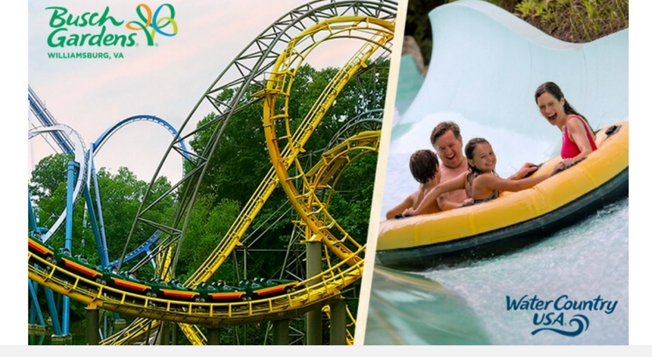 3 Day Busch Gardens Williamsburg Ticket For 50 Southern Savers