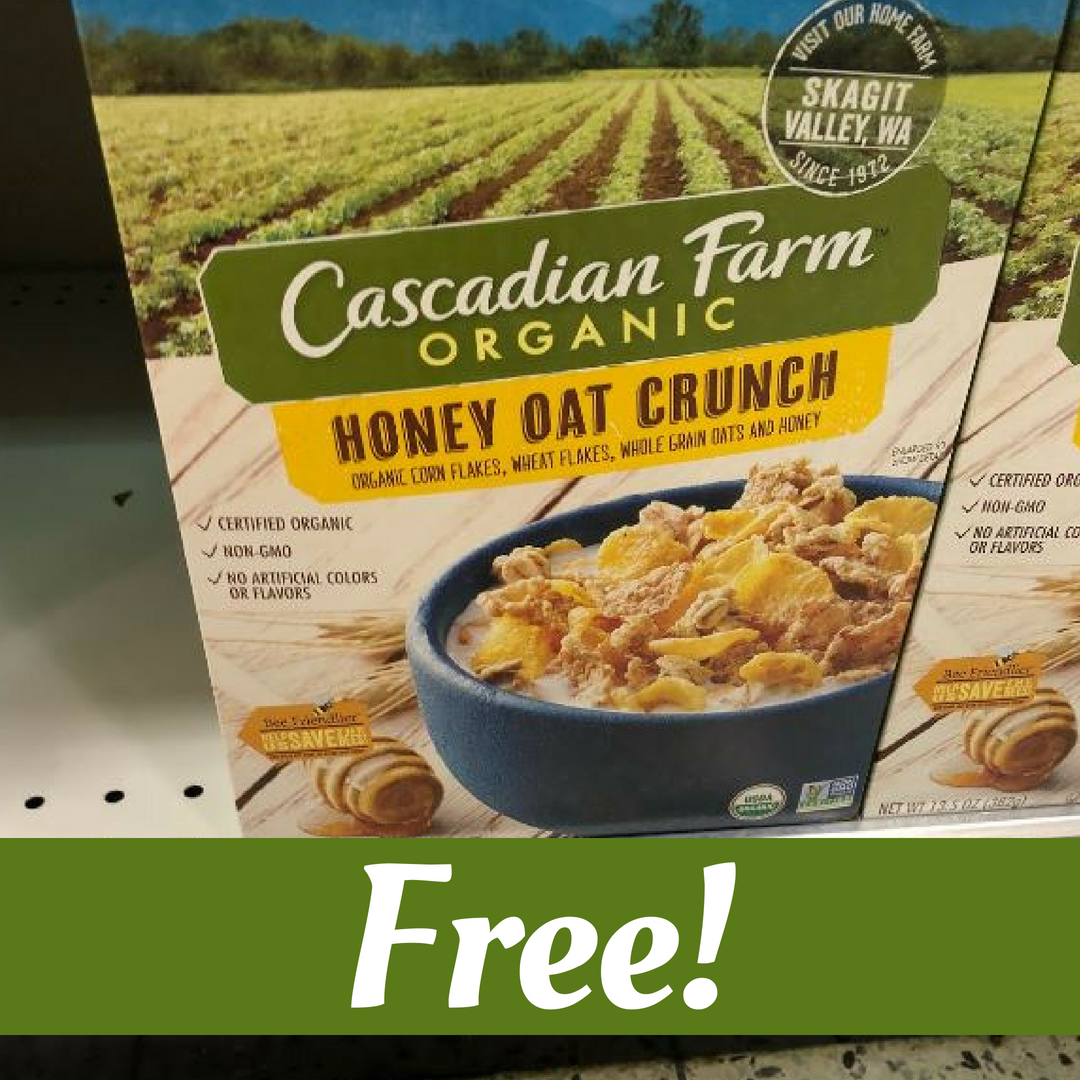 picture about Organic Valley Coupons Printable titled Cascadian Farm Discount codes Cost-free Natural and organic Cereal :: Southern Savers
