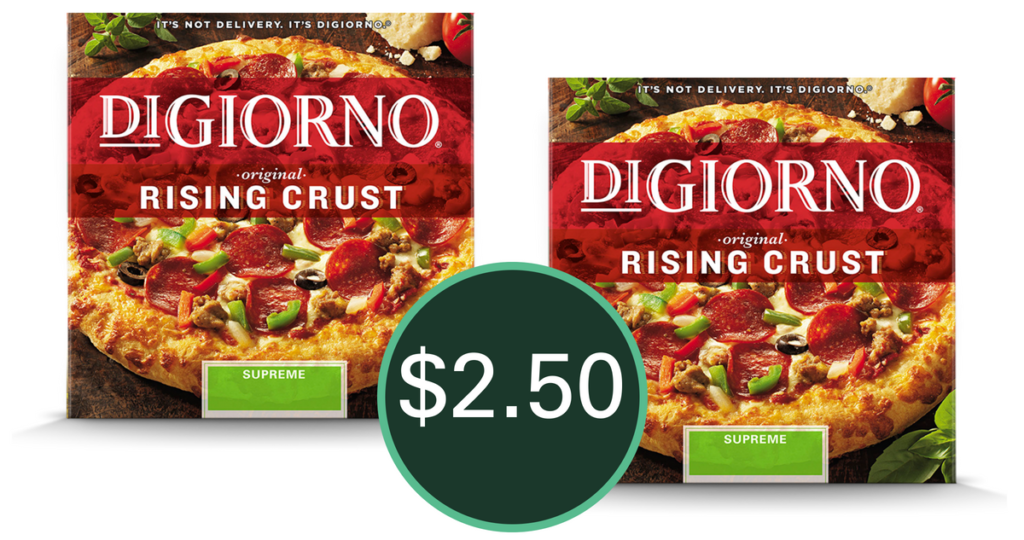 graphic relating to Digiorno Coupons Printable known as Digiorno Coupon $2.50 at Walgreens Starting off 7/8