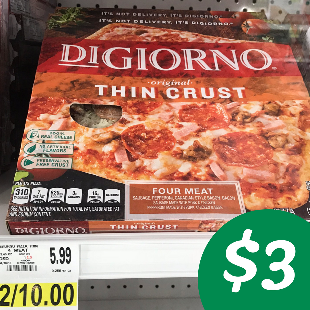 graphic about Digiorno Printable Coupon titled Digiorno Coupon Will make Pizza $3 Setting up Wednesday