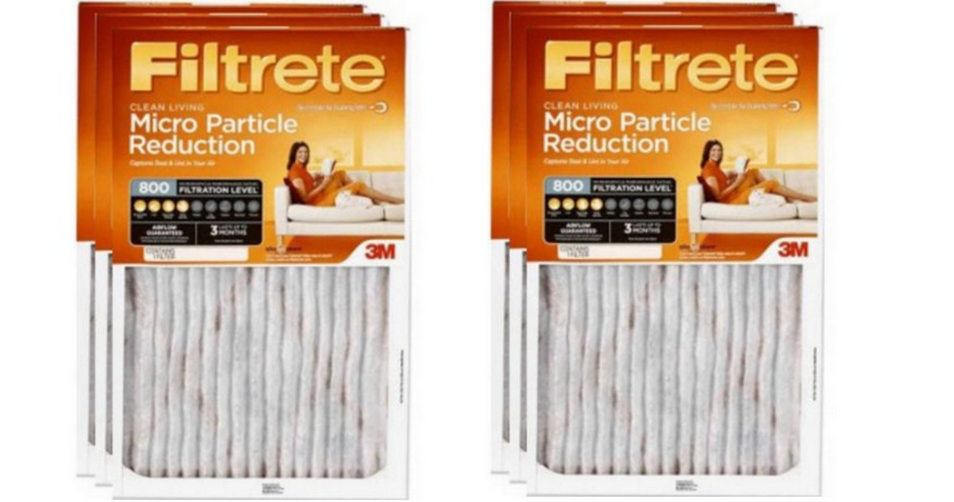 filtrete micro particle reduction air filter for 5 29 southern