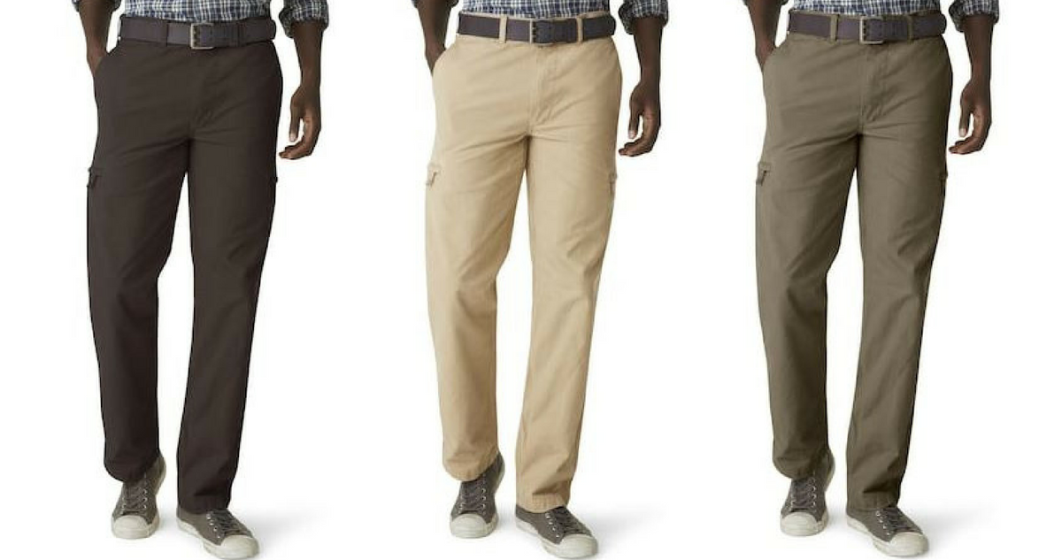 e6e38514 You can stack these Kohl's Coupon Codes to get these super nice Men's  Dockers Crossover Cargo Pants for just $11.67 per pair!