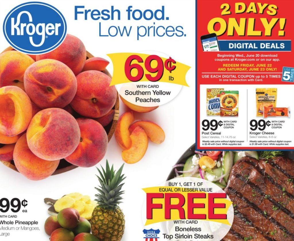 Check Out All The Deals In Kroger Ad Running 6 20 26 This Is Week 2 Of Mega Event So If Youve Been Waiting To Shop Dont Wait Too Much Longer