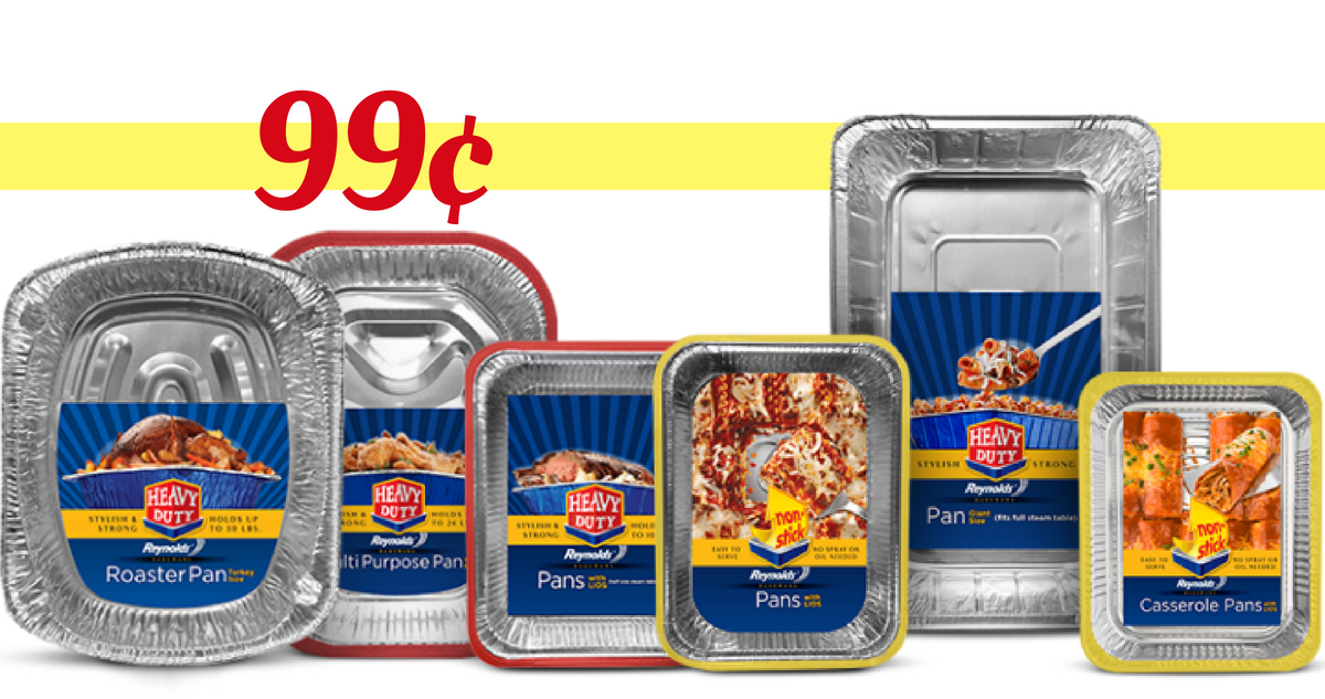 Reynolds Non-Stick Disposable Baking Pans Just $1.49 At Target With Coupon Stack!
