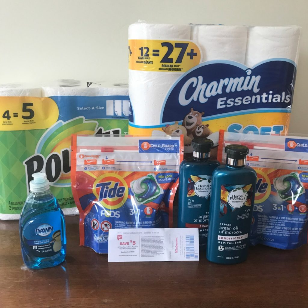 Bounty, Tide, & Charmin As Low As 5¢ Each at Walgreens! :: Southern ...