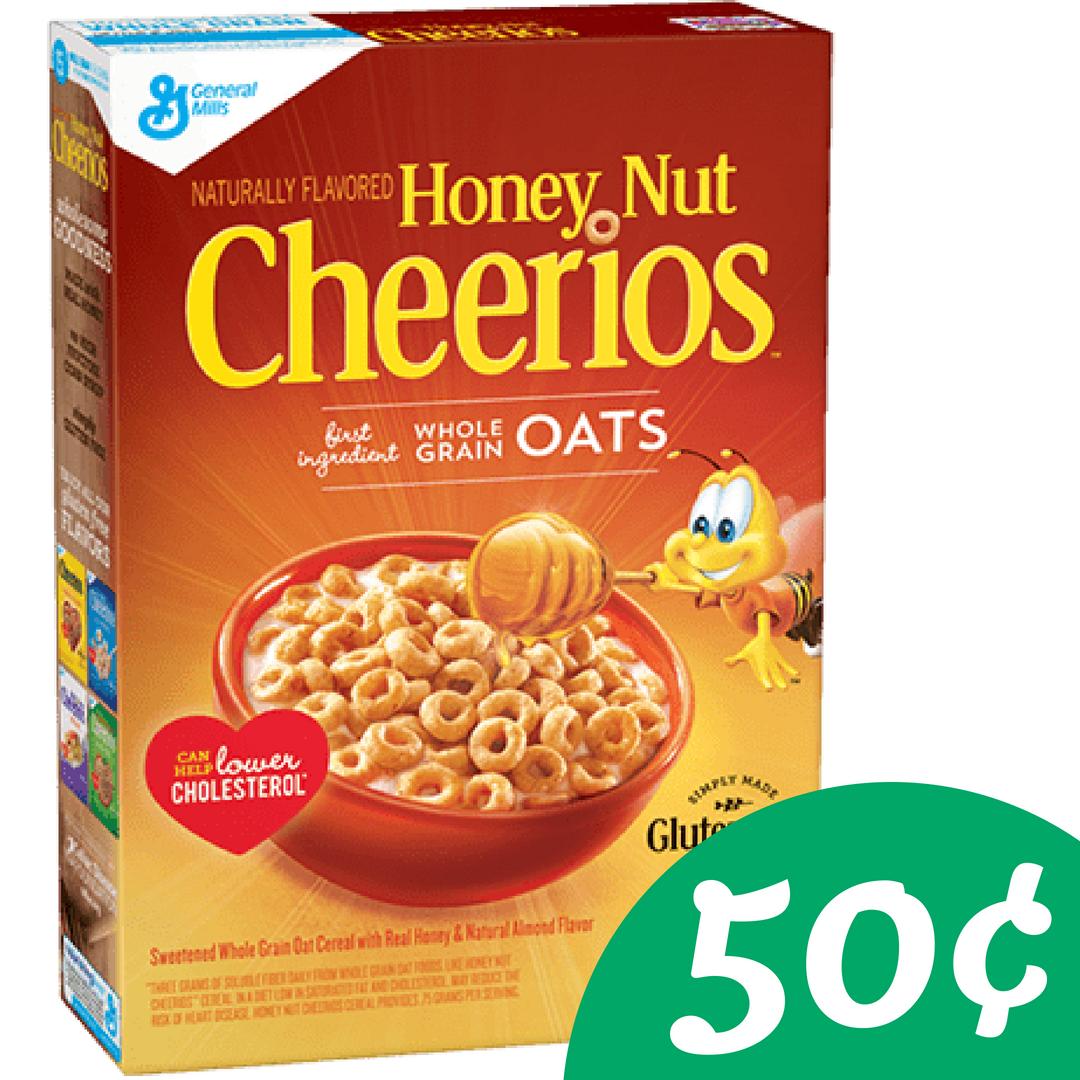Makes Honey Nut Cheerios 50