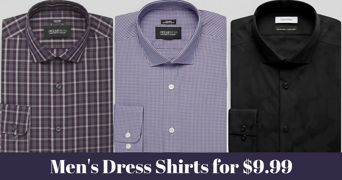 9d51bf64a Men's Wearhouse Sale | Men's Dress Shirts for $9.99 :: Southern Savers