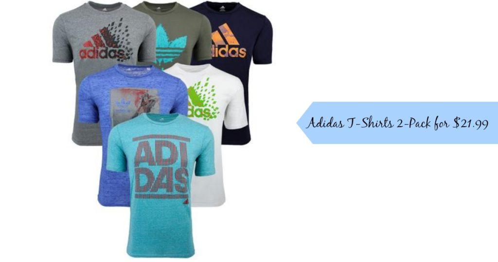 adidas 2 pack t shirt