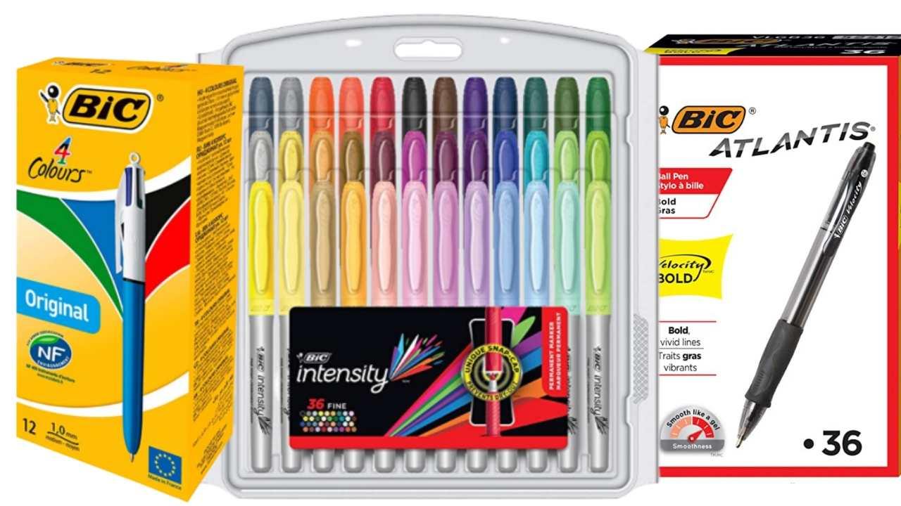 bic writing supplies