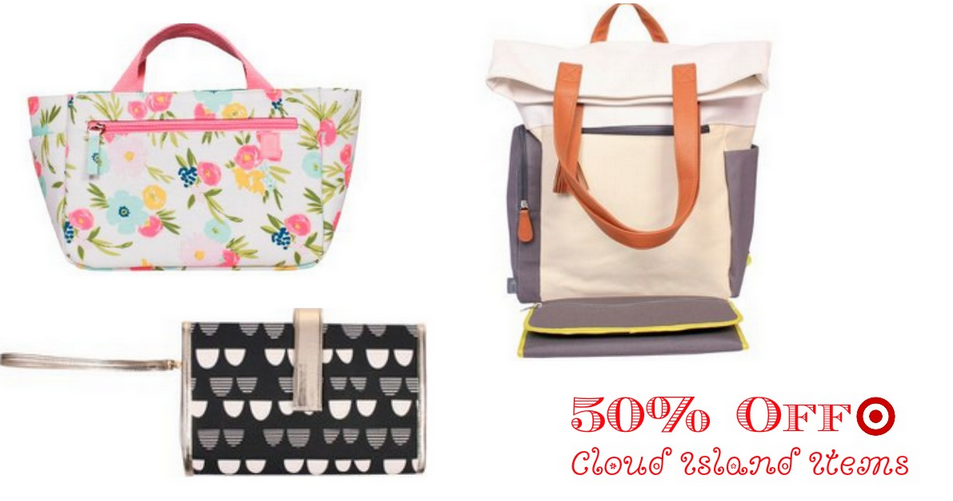 Target Is Offering 50 Off Select Cloud Island Diaper Bags Backpacks Changing Padore