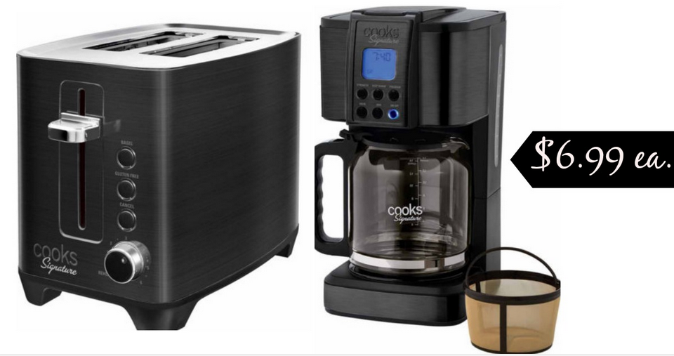 Cooks Signature Small Appliances for $6.99 :: Southern Savers