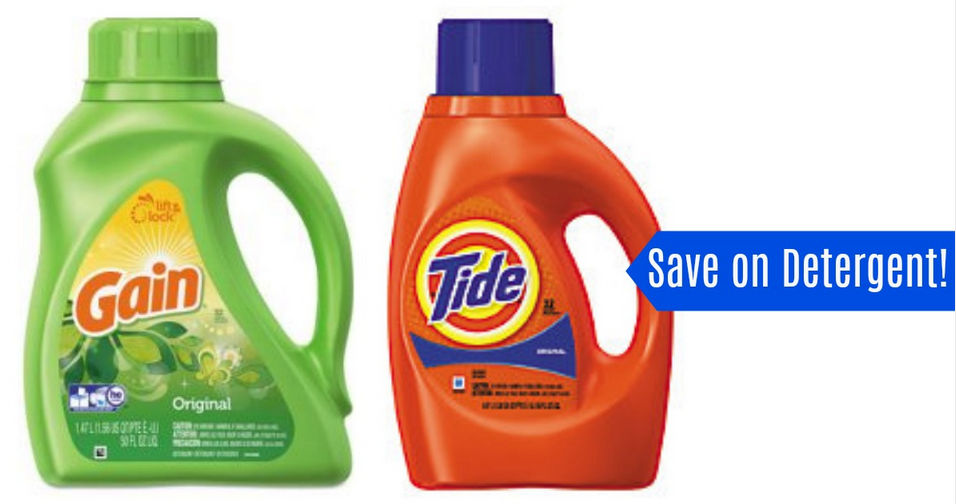 picture regarding Gain Coupons Printable titled Tide Financial gain Discount coupons Detergent for $1.24 :: Southern Savers