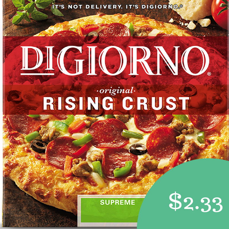 image regarding Digiorno Printable Coupon named Digiorno Coupon Pizza $2.33 at Harris Teeter :: Southern