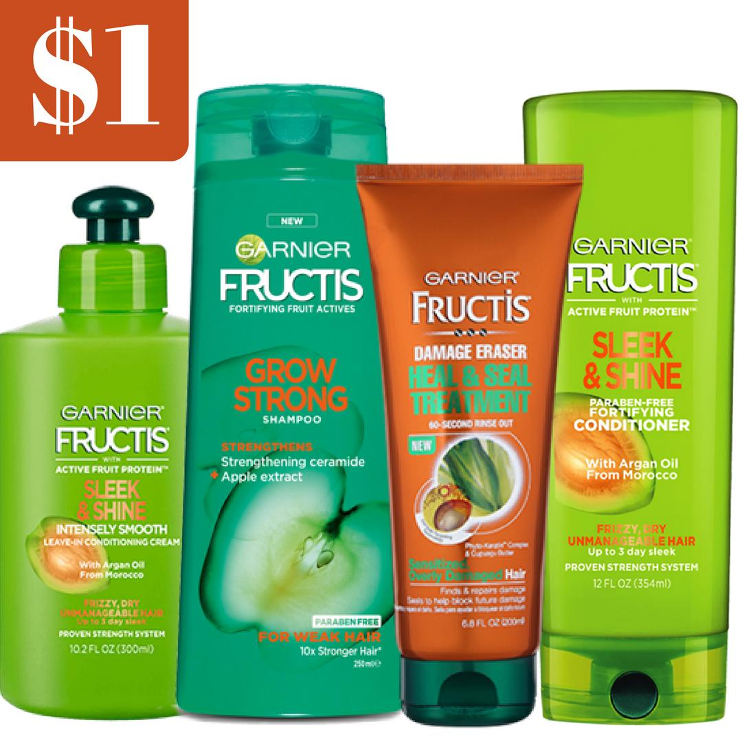 Garnier fructis coupons