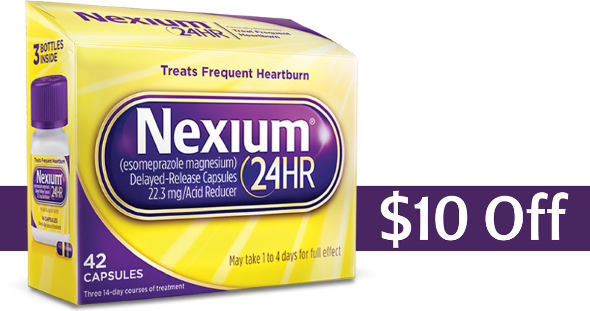 photograph about Nexium Printable Coupon named Nexium Coupon Can make Acid Reducer Medications $13.99 (reg