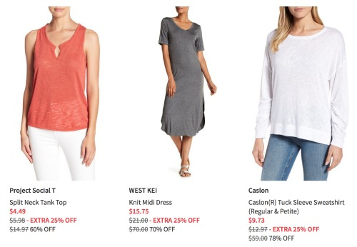 dd8a076ec15 Nordstrom Rack  Additional 25% off Clearance Sale    Southern Savers