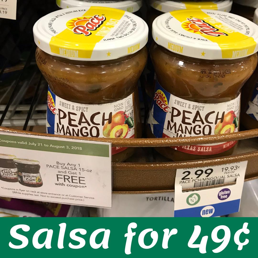 New Pace Coupon | Makes Salsa 49¢ at Publix :: Southern Savers
