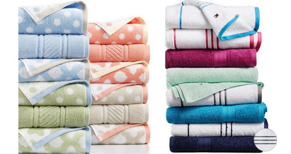 Macy\'s Sale | $4.99 Tommy Hilfiger Bath Towels :: Southern Savers