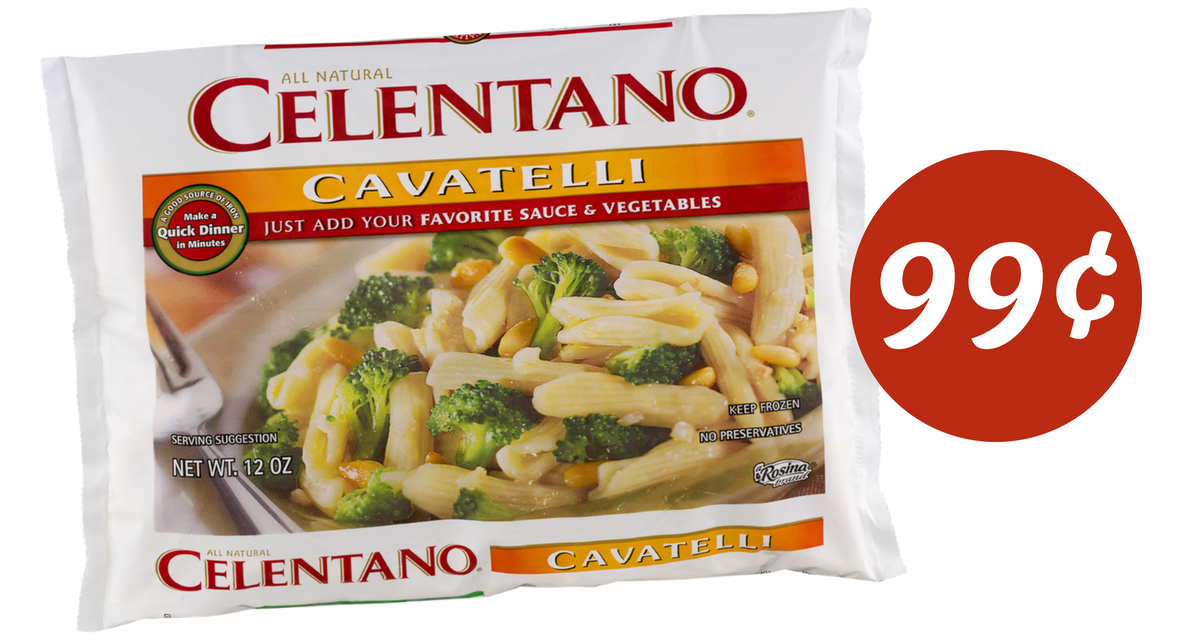 Celentano pasta coupons 2019
