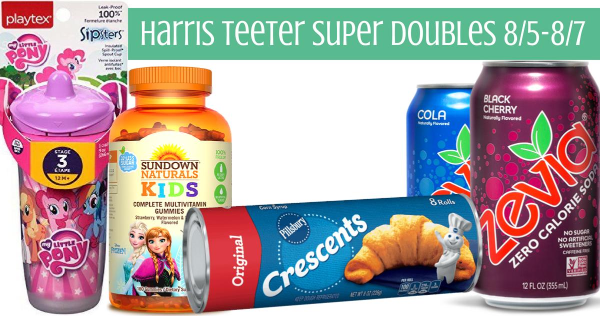 Harris Teeter Super Doubles 8 5 8 7 Deal Ideas Southern Savers