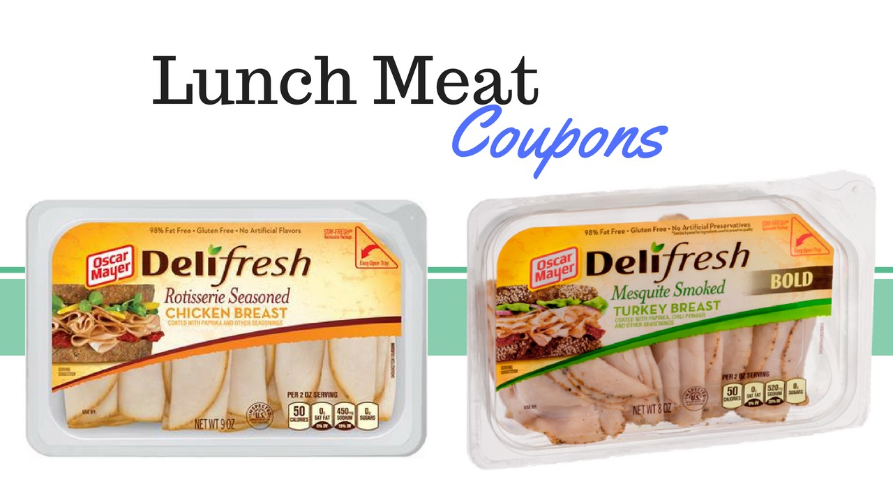 photograph relating to Oscar Meyer Printable Coupons referred to as Refreshing* Oscar Mayer Deli Clean Lunch Meat Coupon :: Southern Savers