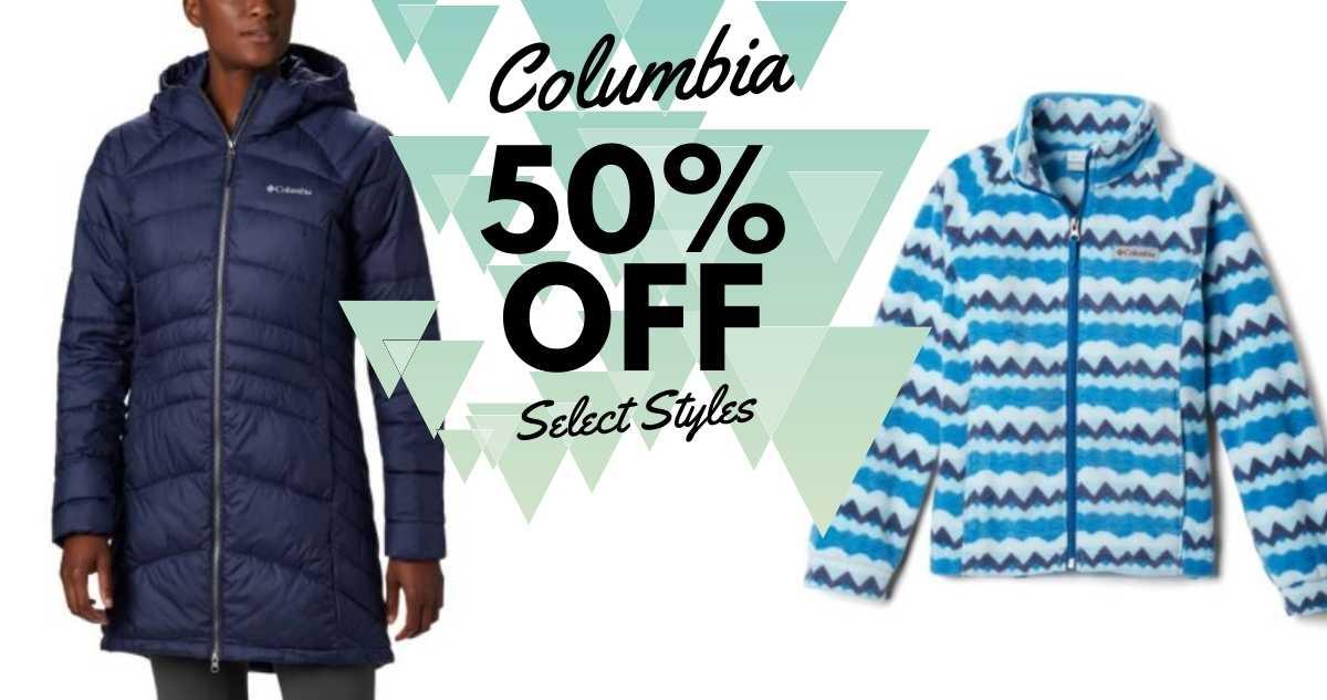 Columbia | Kids' Printed Fleece Jacket $19.90 Shipped + More