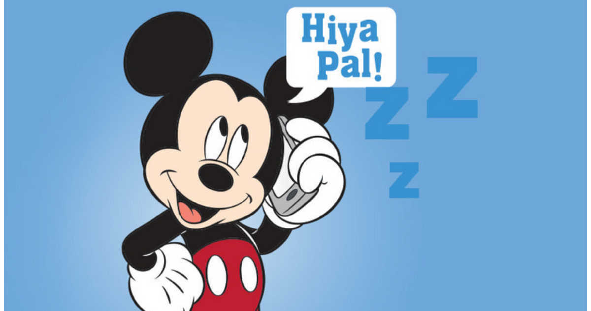 disney bedtime message