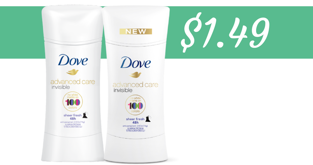 graphic about Printable Dove Coupons named Dove Deodorant Coupon Helps make Progress Treatment $1.49 :: Southern