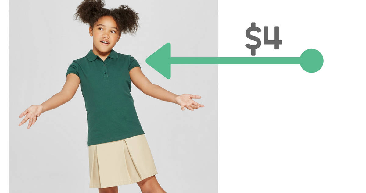 Target Deal School Uniform Polos For 4 Southern Savers