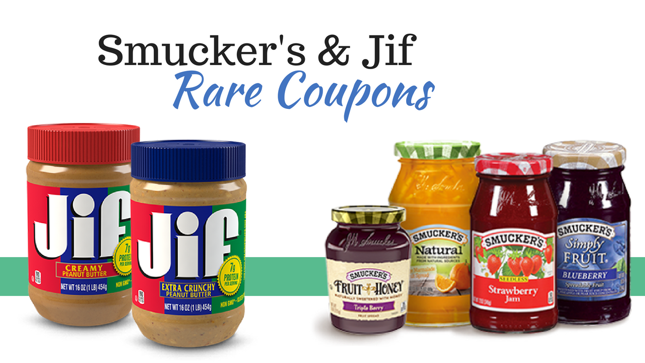 picture relating to Honest Company Printable Coupon referred to as Uncommon: Jif Smuckers Printalbe Coupon :: Southern Savers