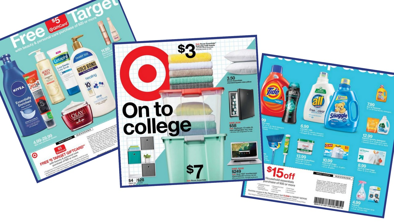 581813a66 Start getting ready for all the deals in the Target Ad starting Sunday  8/12. It's a great week for deals with two in-ad coupons off all personal  care and ...