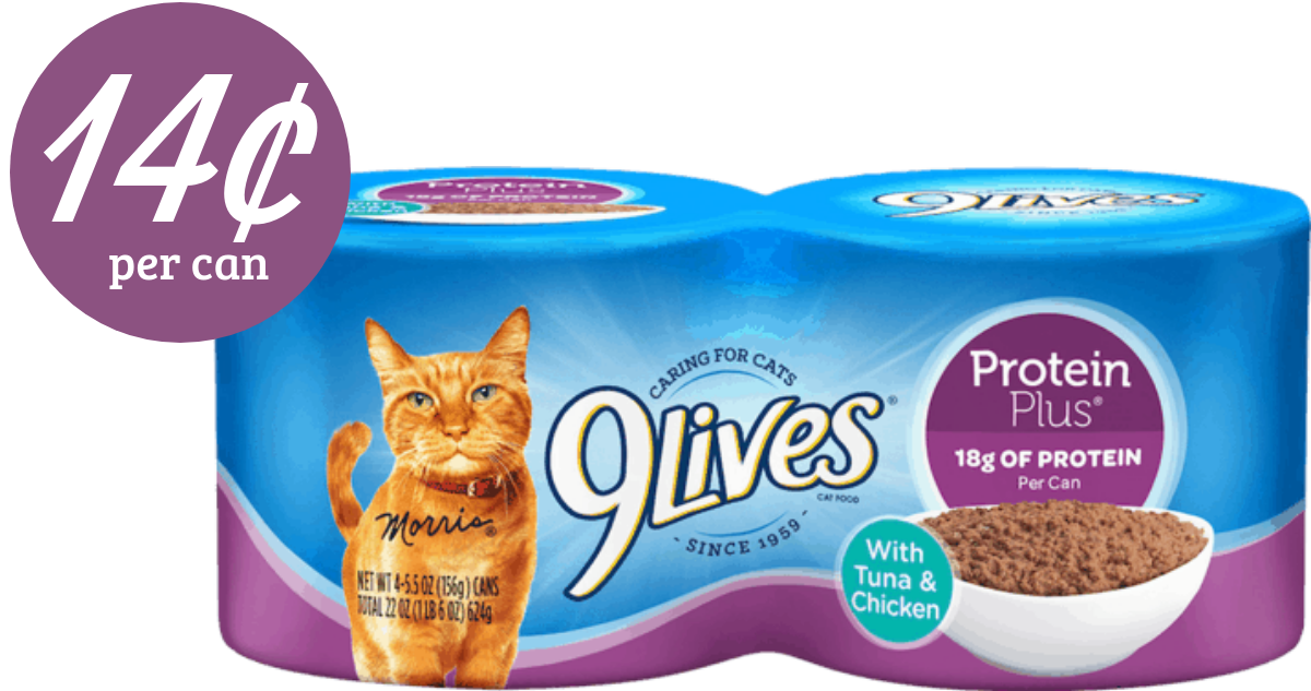Like 9Lives coupons? Try these...