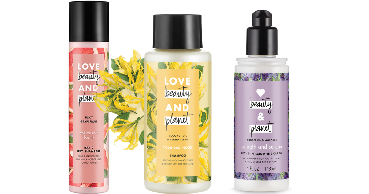 new love  beauty  u0026 planet hair care coupon   deals