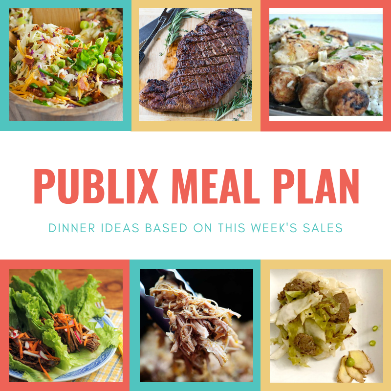 our meal plan this week following keto publix sales southern