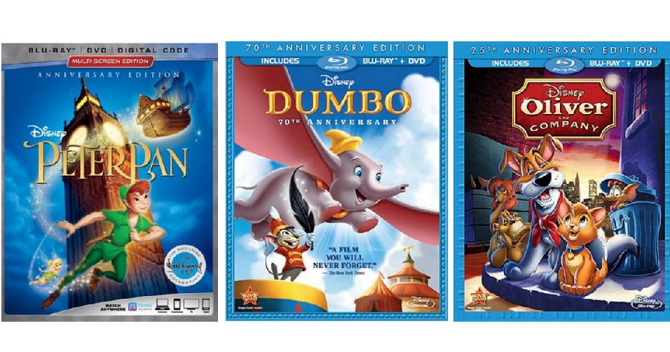 Disney Blu-ray Combo Packs for $8 04 :: Southern Savers