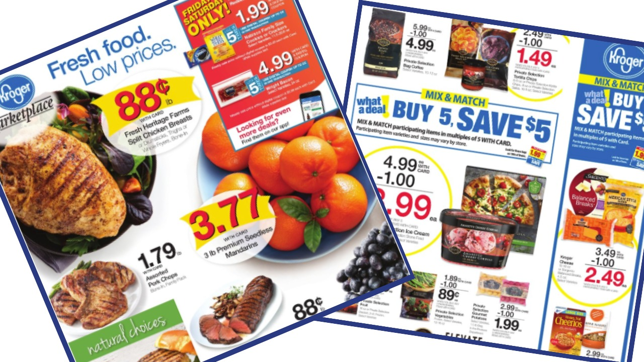 Kroger Weekly Ad 9 19 9 25 Southern Savers