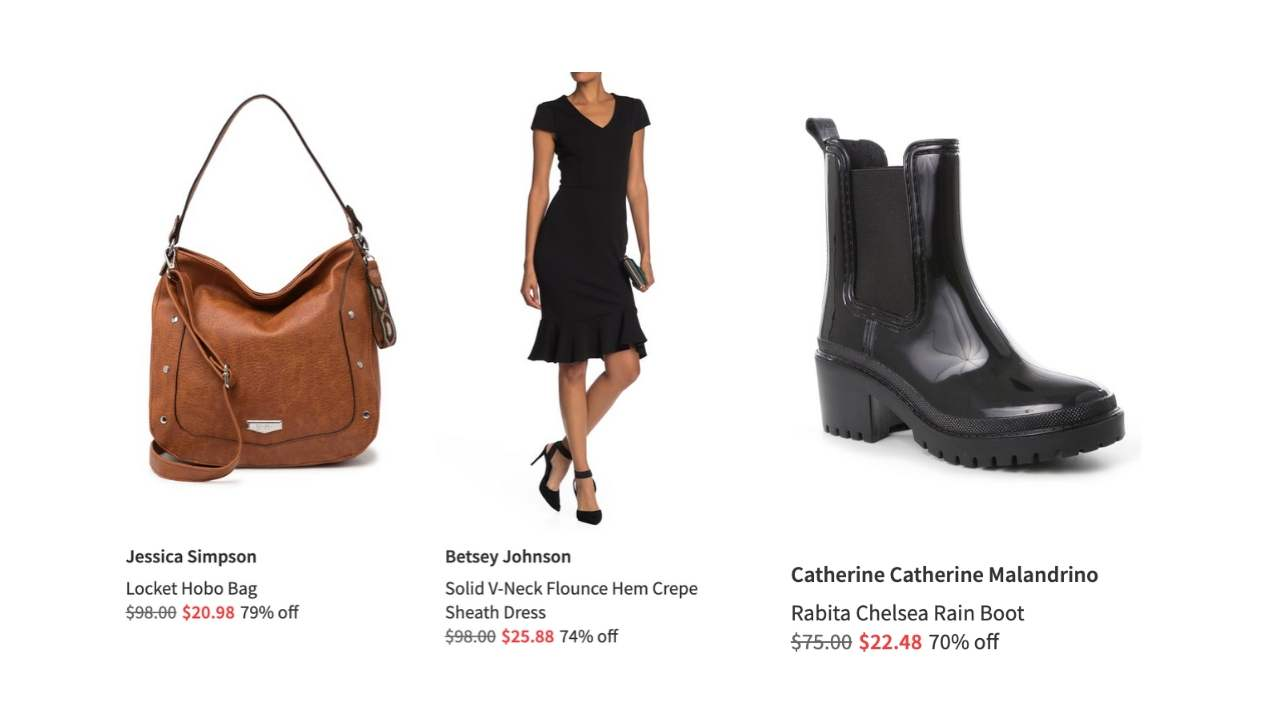 Nordstrom Rack Up To 85 Off Clearance Southern Savers