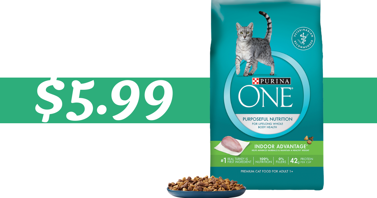 image regarding Purina One Printable Coupon referred to as Purina A person Coupon Would make Cat Food stuff $5.99 (reg. $13.99