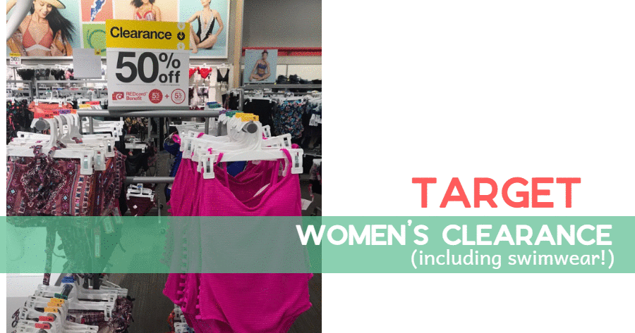 61fe5f456ba Grab some good deals on swimwear for next year with this deal from Target!  They ve currently got lots of swimwear items on clearance.